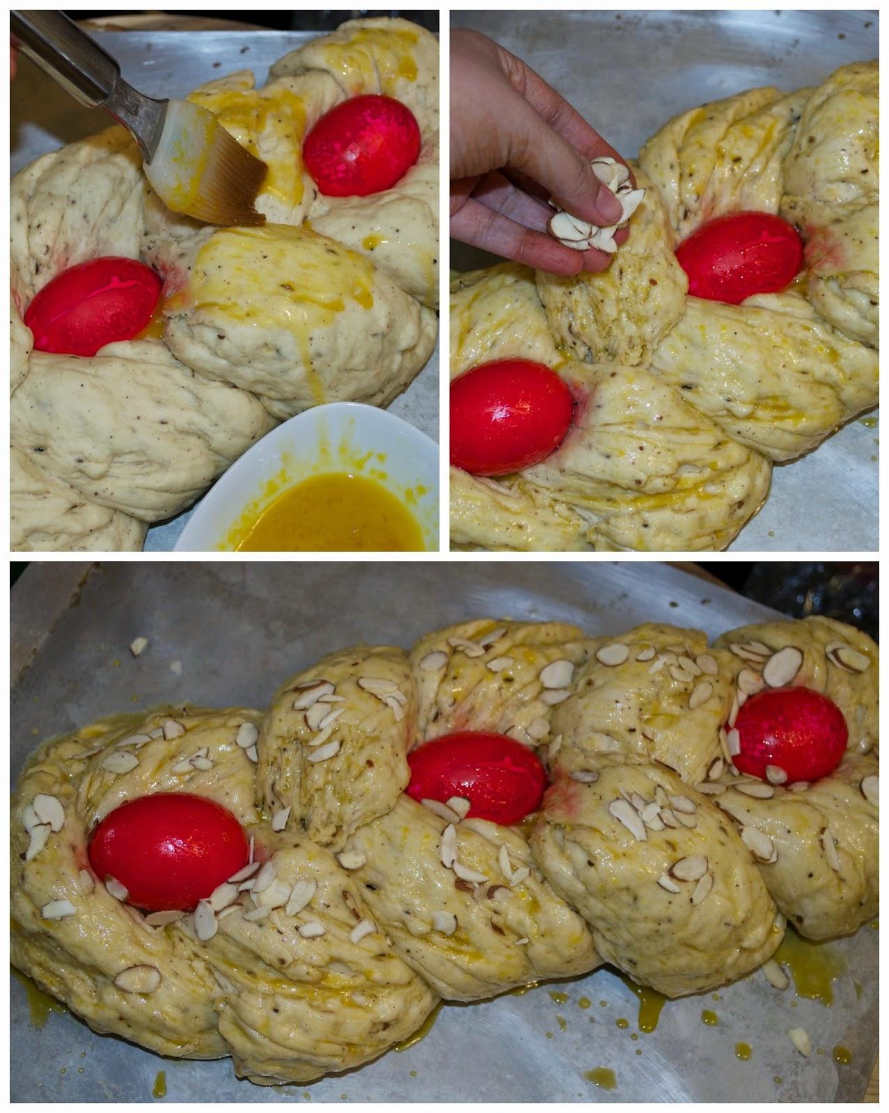 Greek Easter Desserts  Cooking for Kishore Happy Easter Tsoureki Greek