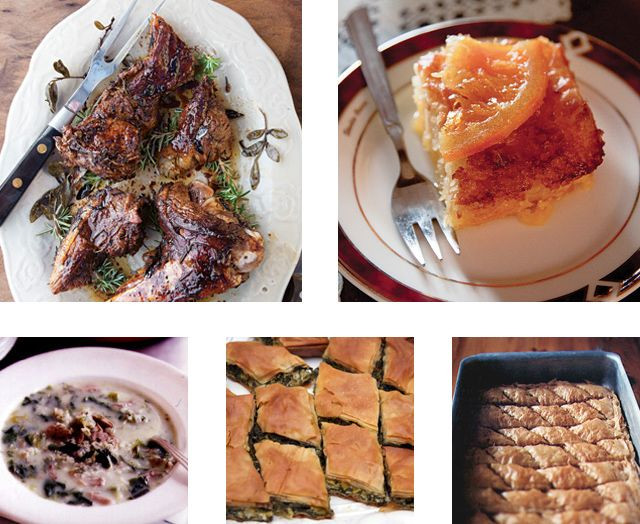 Greek Easter Dinner  100 best Menus From Around The World images on Pinterest