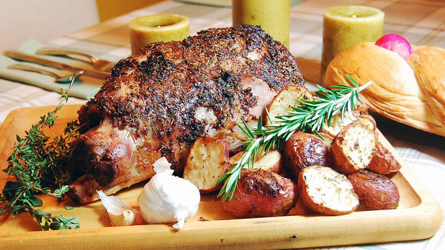 Greek Easter Lamb  A Good Easter Dinner Could Be Greek To You NPR