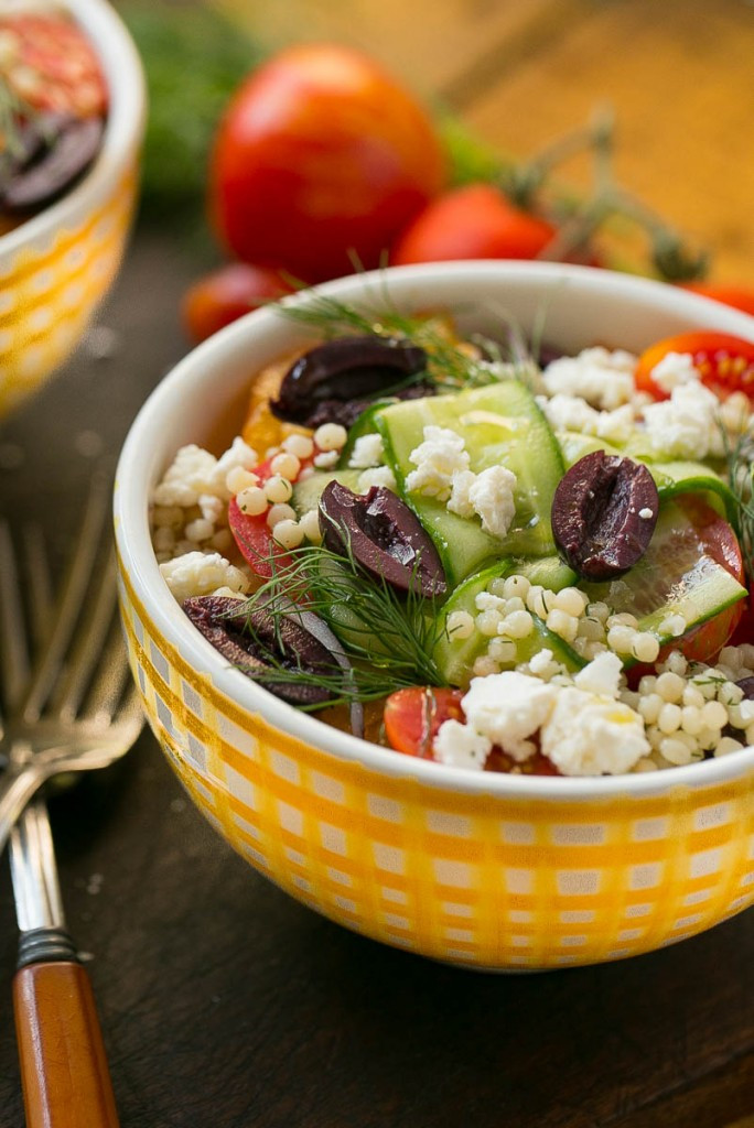 Greek Side Dishes Healthy  Greek Couscous Bowls Dinner at the Zoo