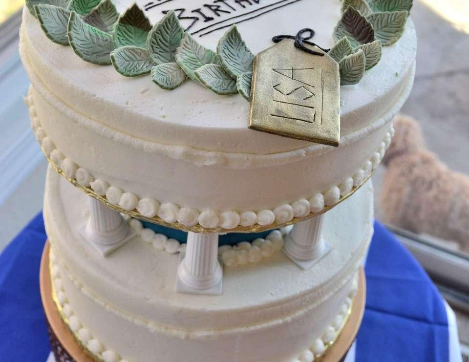 """Greek Wedding Cakes  My Big Fat Greek Wedding Birthday """"My Big Fat Greek"""