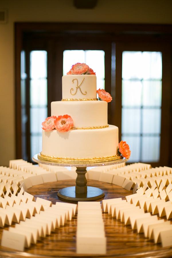 Greek Wedding Cakes  A Chic Pink Traditional Greek Orthodox Wedding