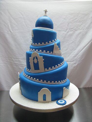 Greek Wedding Cakes  Greek wedding cake AMAZING