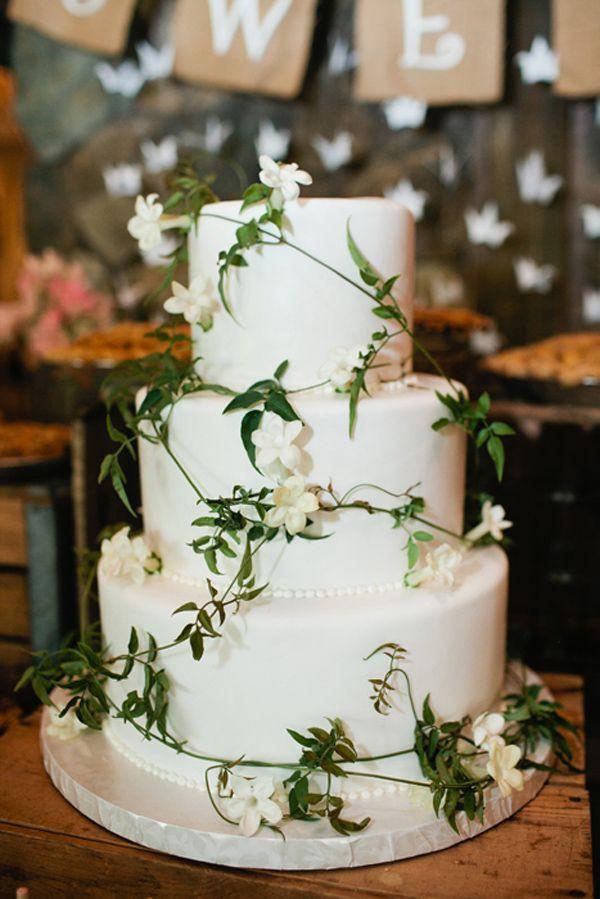 Green And White Wedding Cake  white and green wedding cake by vanilla bake shop