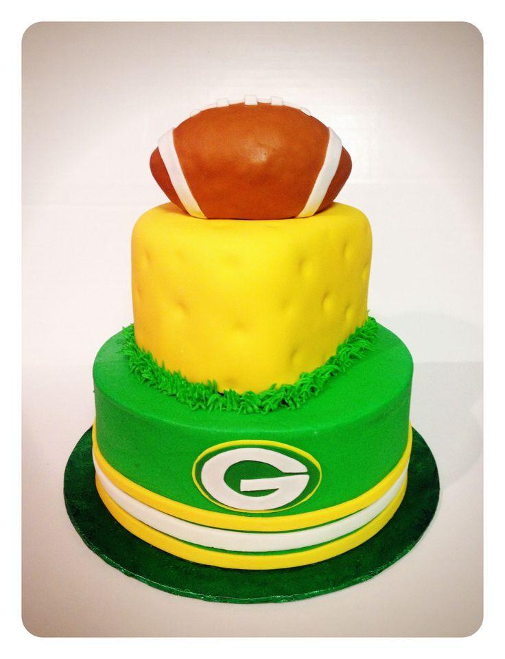 Green Bay Wedding Cakes  Green Bay Packers cake