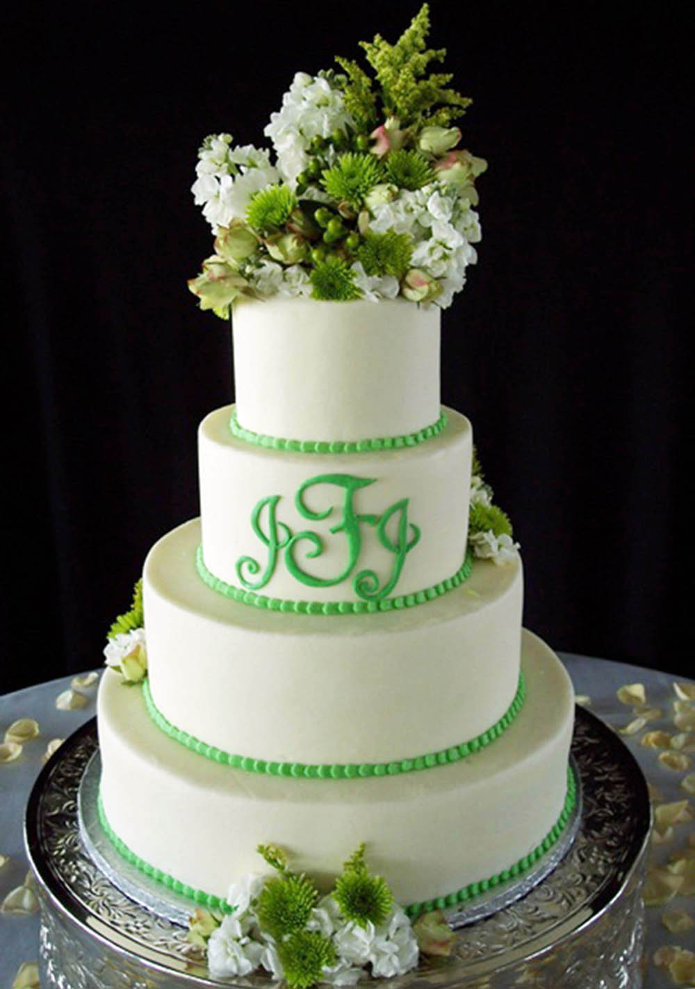 Green Wedding Cakes  Eye Candy Green Wedding Cakes Reception Project