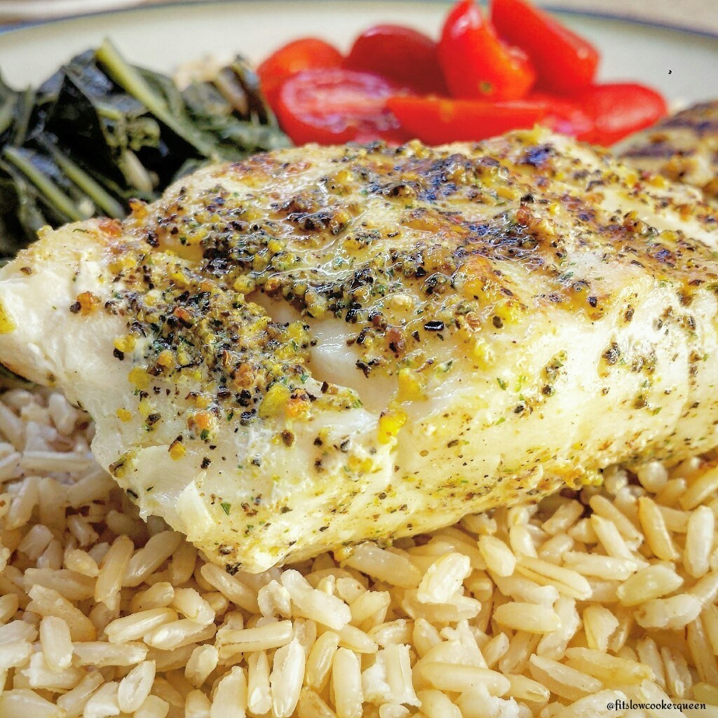 """Grilled Cod Fish Recipes Healthy  """"Sea"""" Grilled Cod Fit Slow Cooker Queen"""