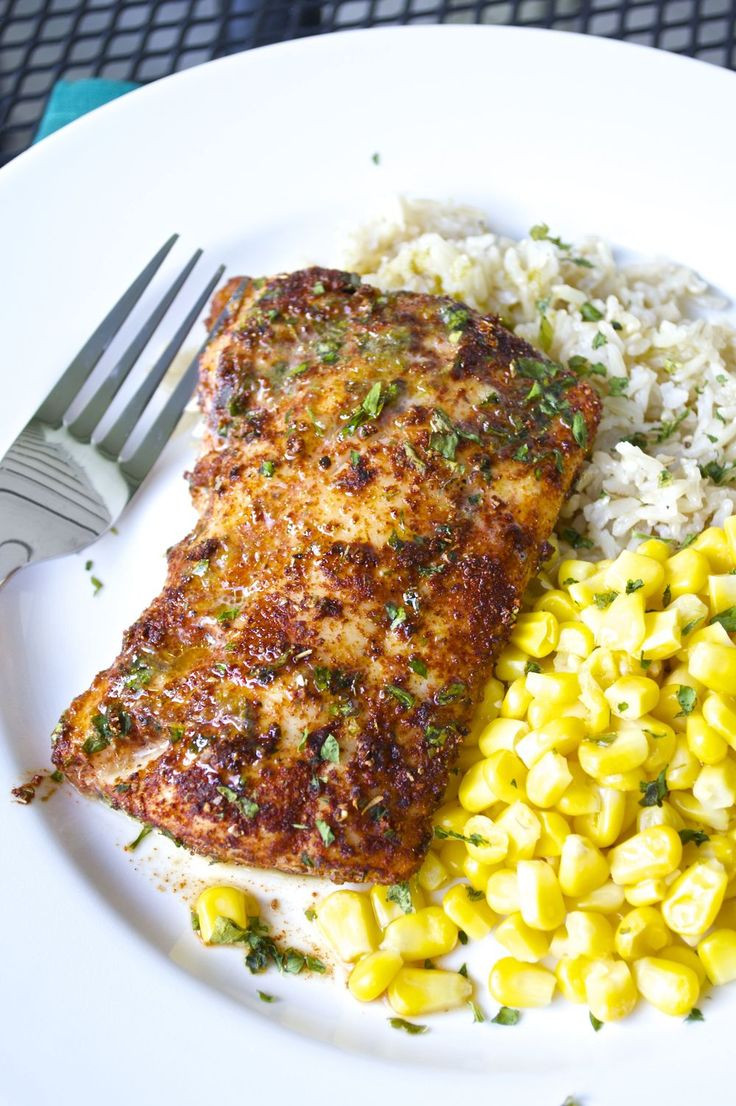 Grilled Cod Fish Recipes Healthy  Check out Chili Lime Cod Fillets It s so easy to make