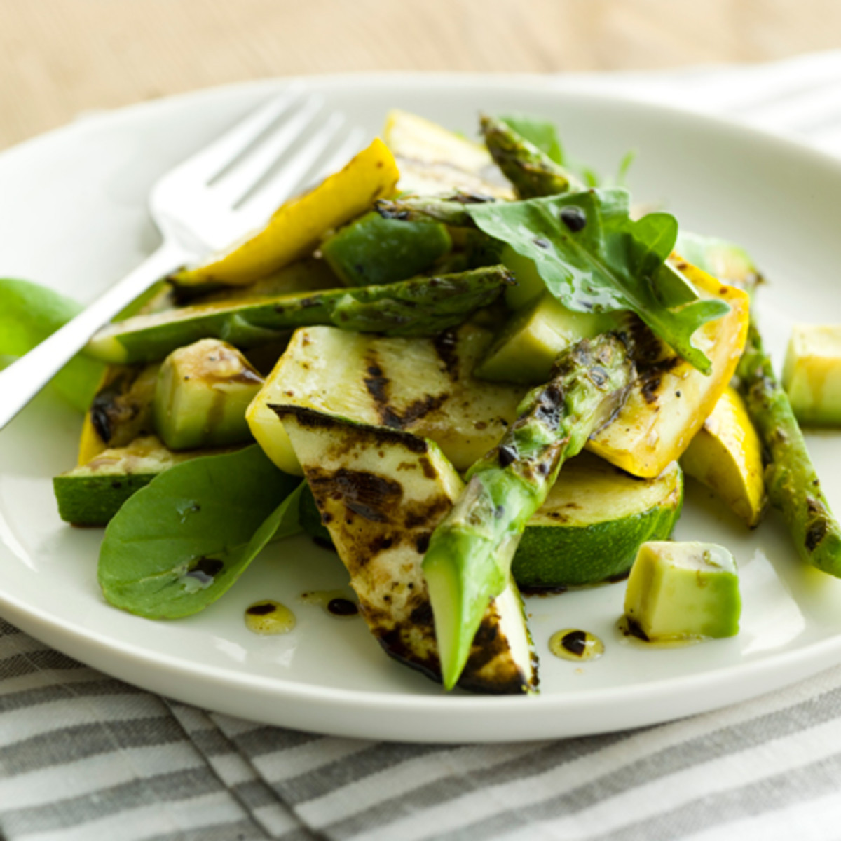 Grilled Summer Squash  Grilled Zucchini and Summer Squash Salad with Avocado