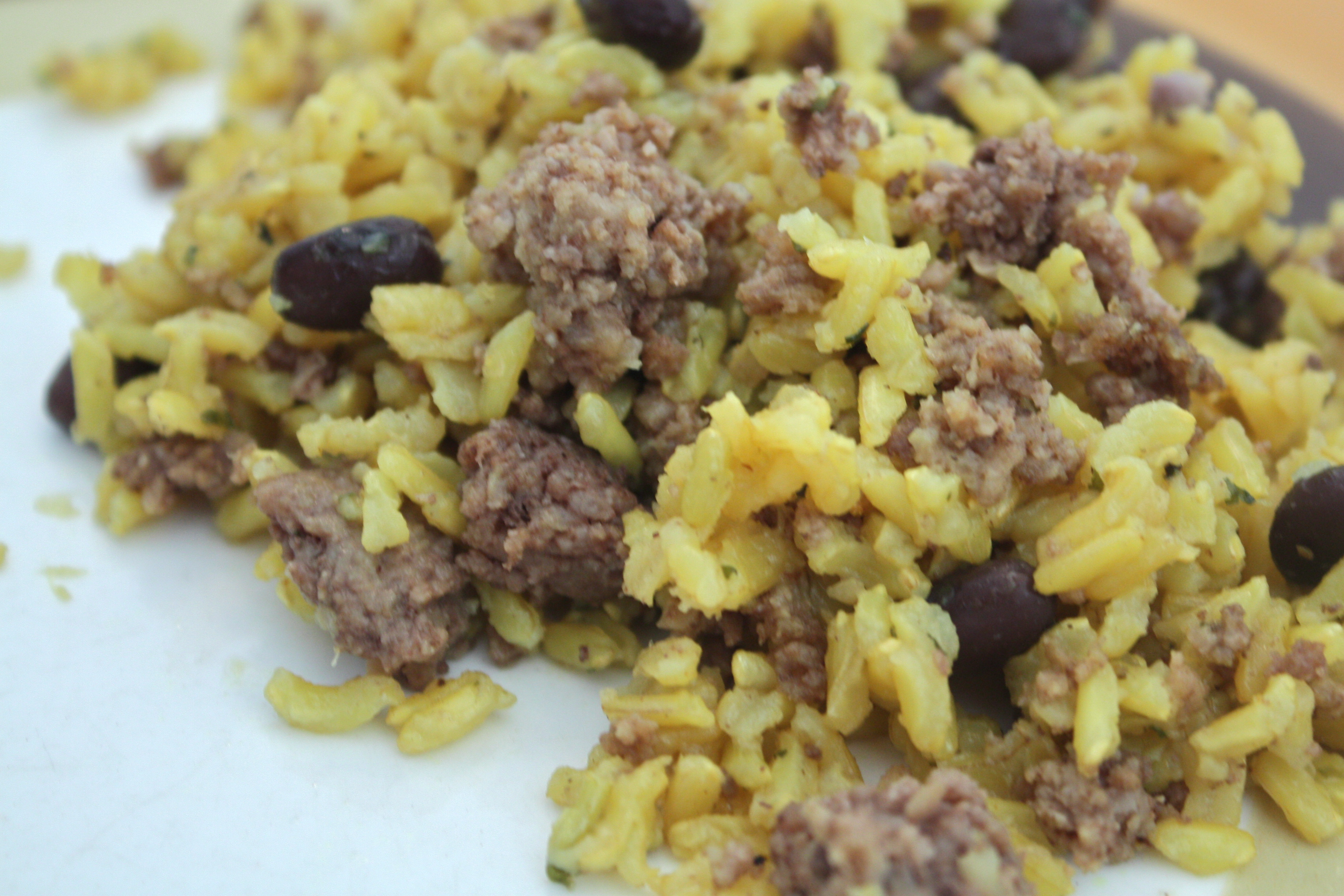 Ground Beef And Rice Recipes Healthy  Ground Beef Rice and Beans Anne Jisca s Healthy Pursuits