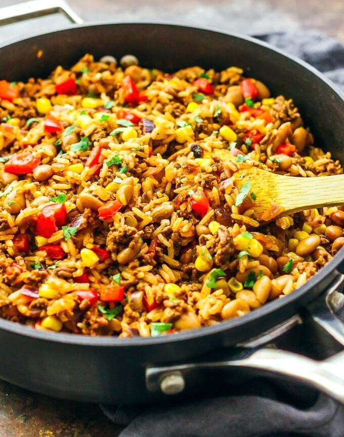 Ground Beef And Rice Recipes Healthy  Mesmerizing Ground Beef And Rice Recipes Beef Fried Rice 3