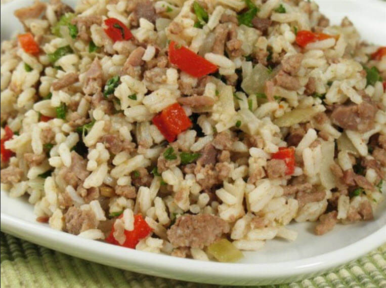 Ground Beef And Rice Recipes Healthy  How to make Dirty Rice Recipe with Ground Beef Easy Recipes