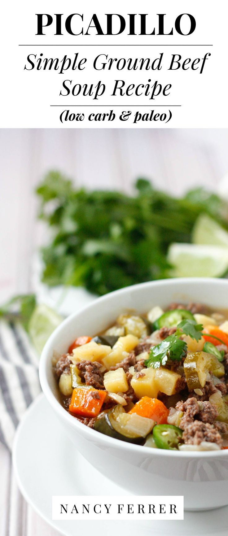 Ground Beef Recipes Healthy Paleo  Picadillo