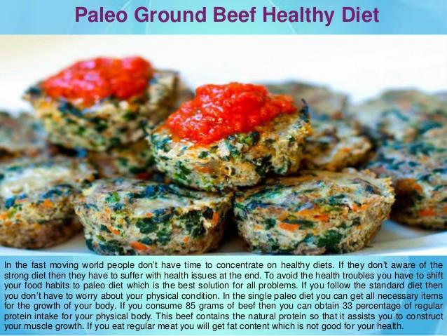 Ground Beef Recipes Healthy Paleo  Healthy Paleo Ground Beef Recipe