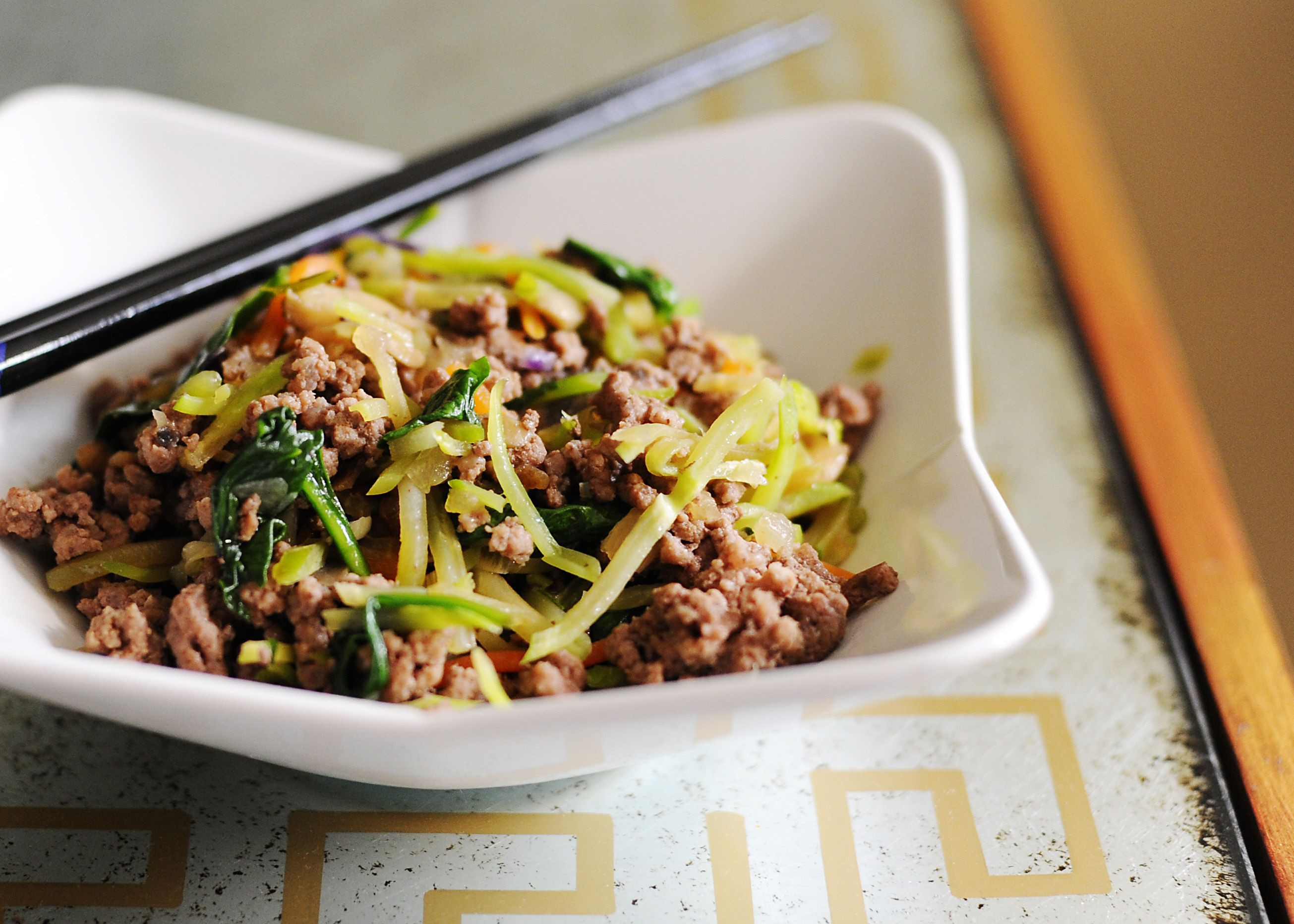 Ground Beef Recipes Healthy Paleo  Paleo asian ground beef broccoli slaw So easy and so good