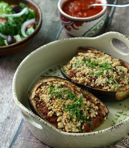 Ground Beef Recipes Healthy Paleo  Paleo Stuffed Eggplant with Ground Beef Get Healthy U