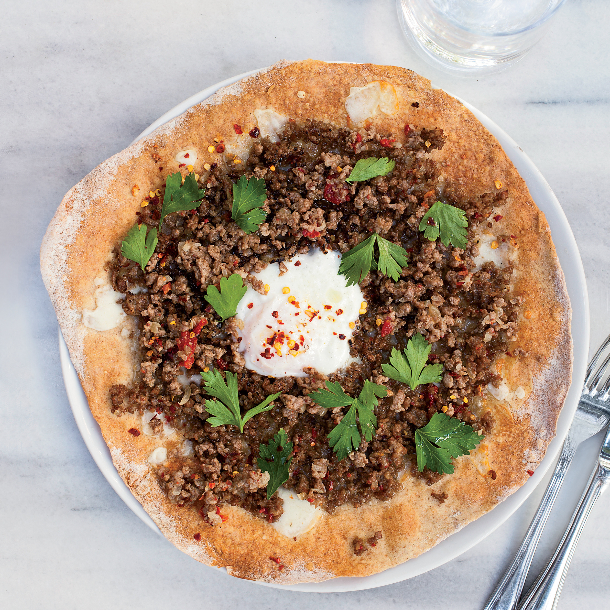 Ground Beef Summer Recipe  Turkish Ground Lamb Pizzas Recipe Semsa Denizsel
