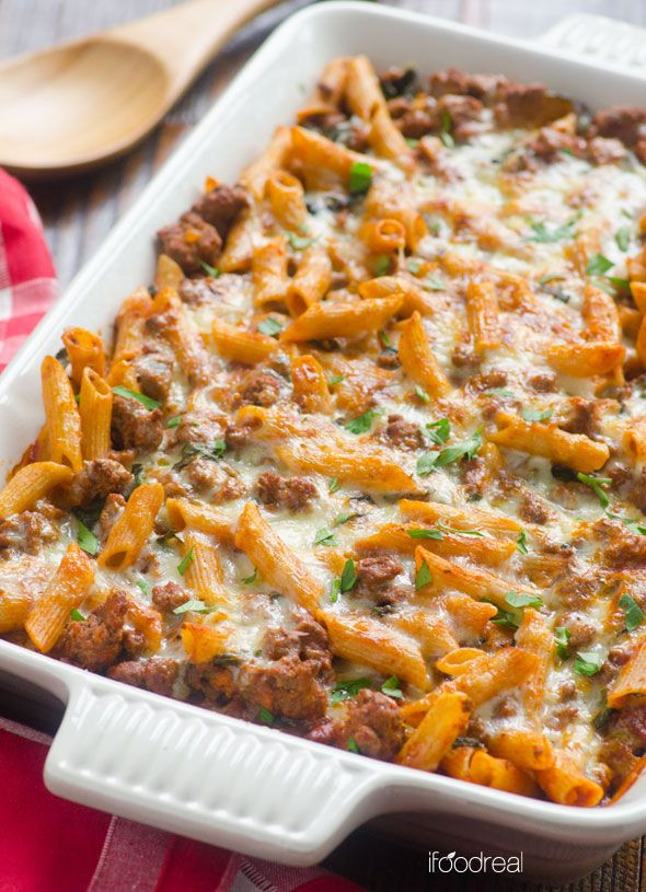 Ground Turkey Casserole Healthy  1000 ideas about Healthy Pasta Bake on Pinterest