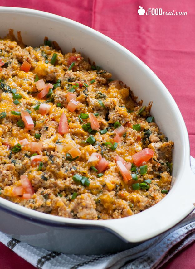 Ground Turkey Casserole Healthy  13 Delicious and Healthy Ground Turkey Recipes Total