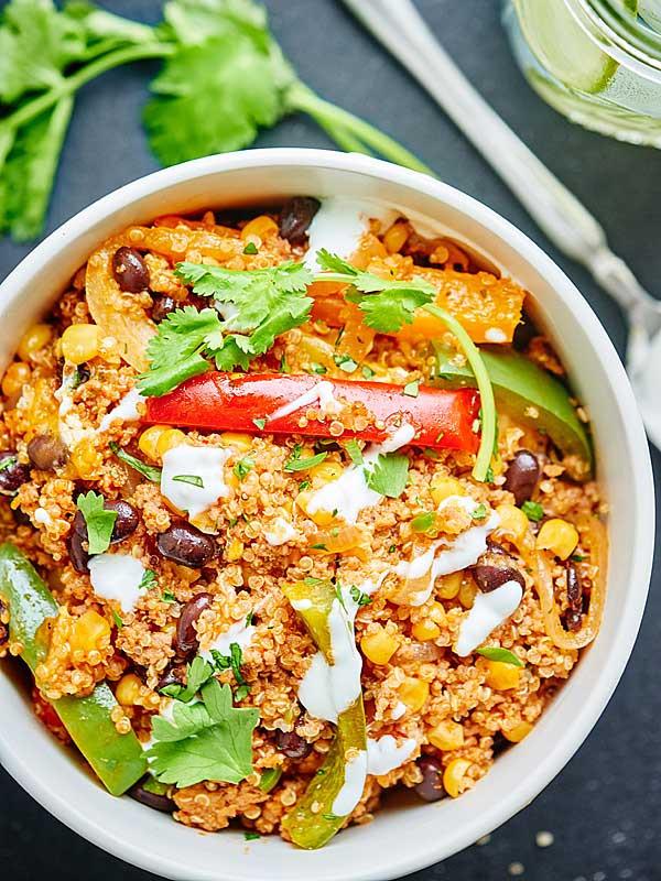 Ground Turkey Casserole Healthy  Healthy Mexican Casserole w Ground Turkey & Quinoa