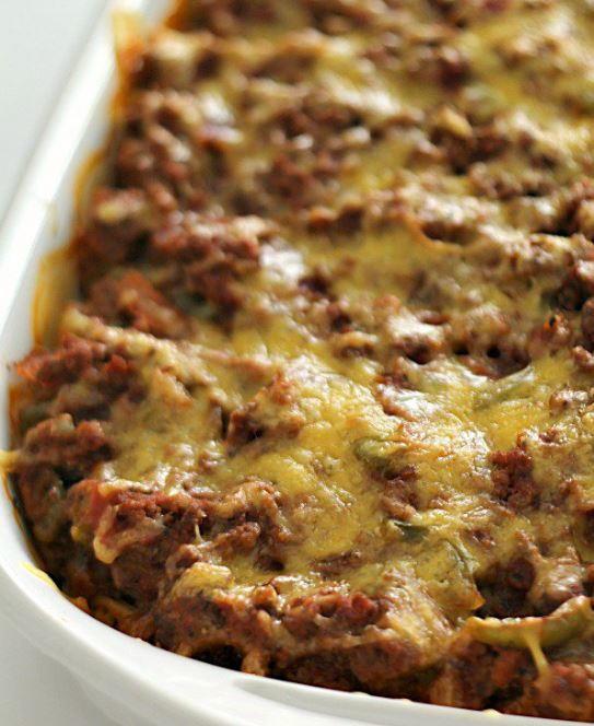 Ground Turkey Casserole Healthy  Million Dollar Ground Turkey Casserole