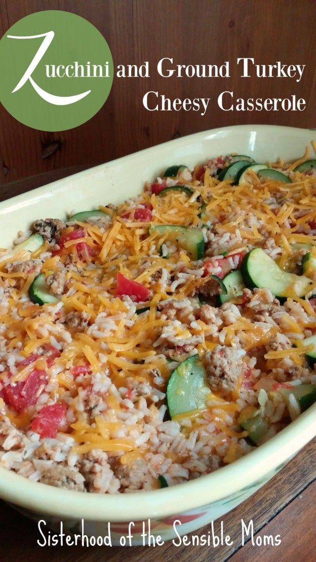 Ground Turkey Casserole Healthy  Casserole recipes The o jays and Mom on Pinterest