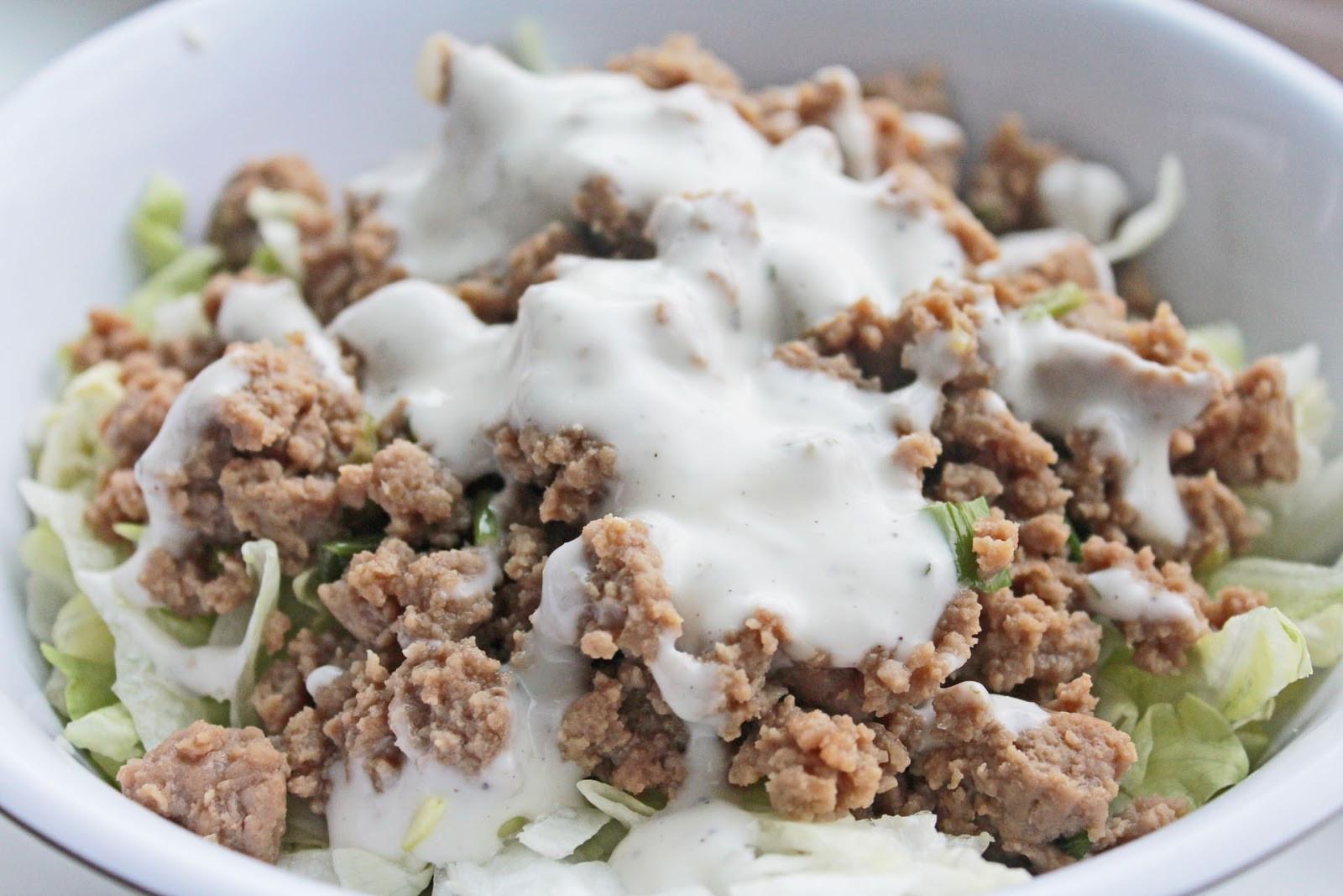 Ground Turkey Healthy  Healthy Dinner Recipe Ground Turkey Stir Fry Lettuce