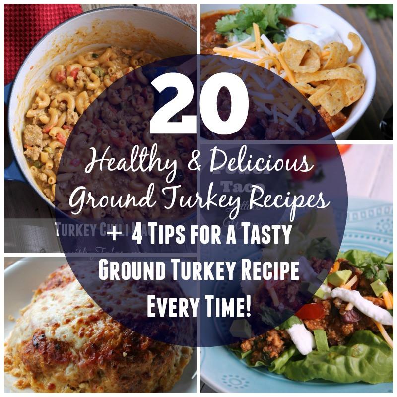 Ground Turkey Healthy  20 Healthy and Delicious Ground Turkey Recipes