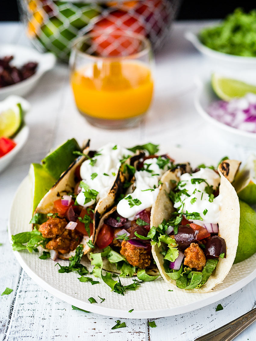 Ground Turkey Tacos Healthy  Healthy Ground Turkey Tacos w Smoky Homemade Seasoning