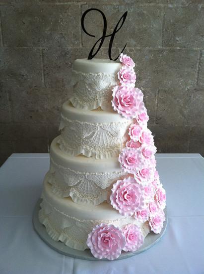 Gumpaste Flowers For Wedding Cakes  Gumpaste Flower Cakes Clearwater FL Chantilly Cakes