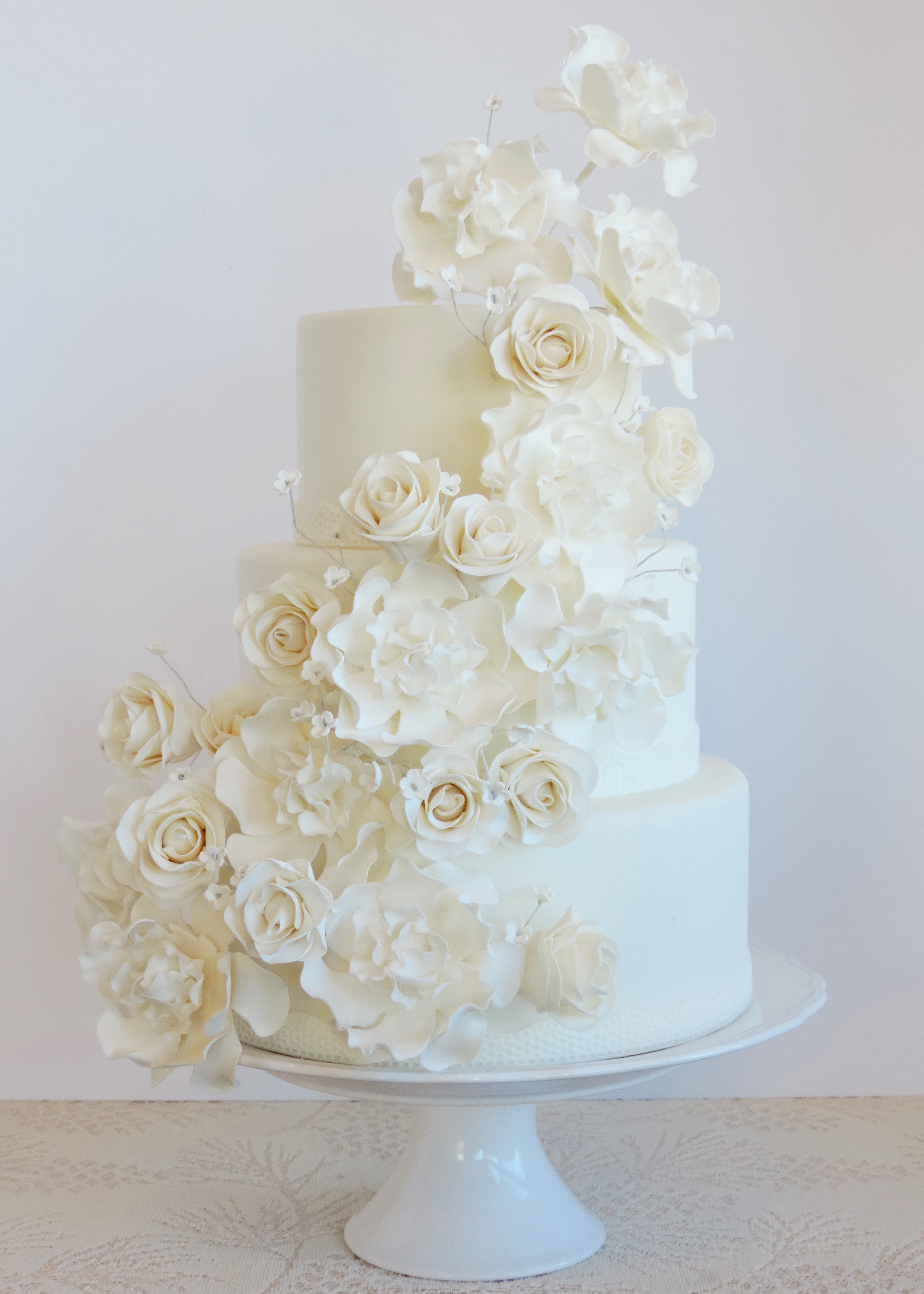 Gumpaste Flowers For Wedding Cakes  Gum Paste Flowers – Meloda