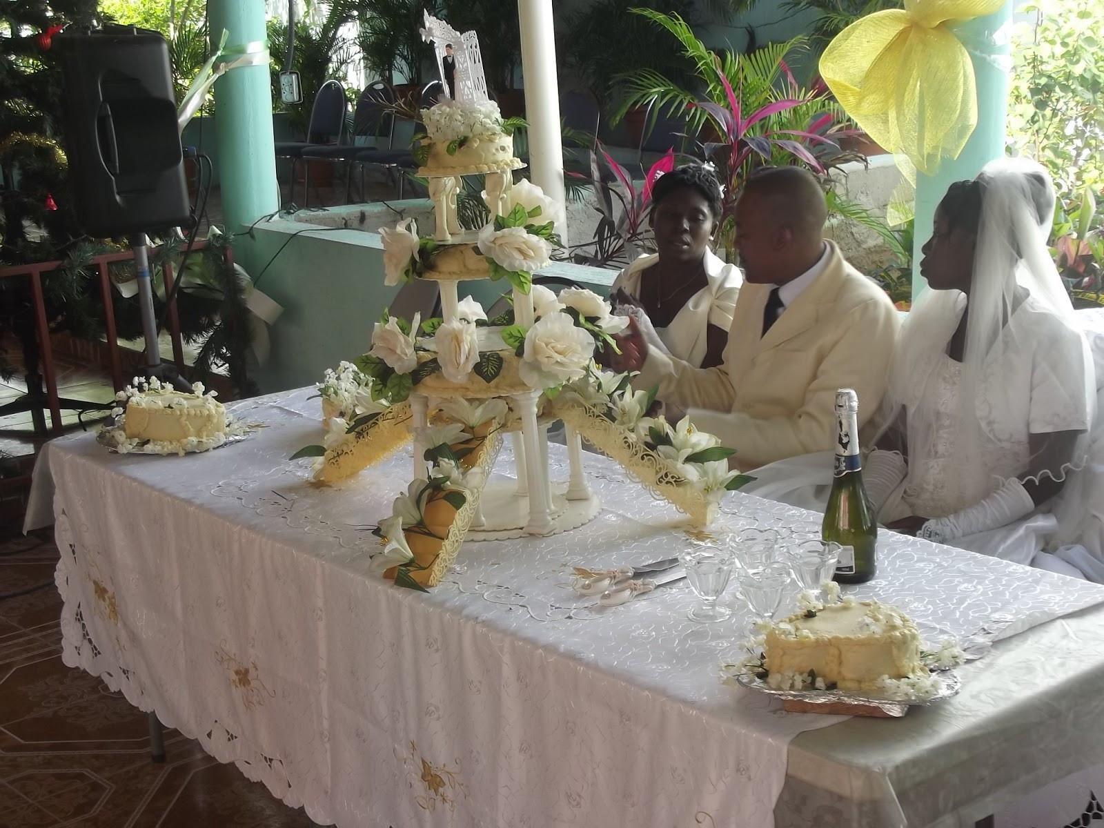 Haitian Wedding Cakes  Haitian wedding cake idea in 2017