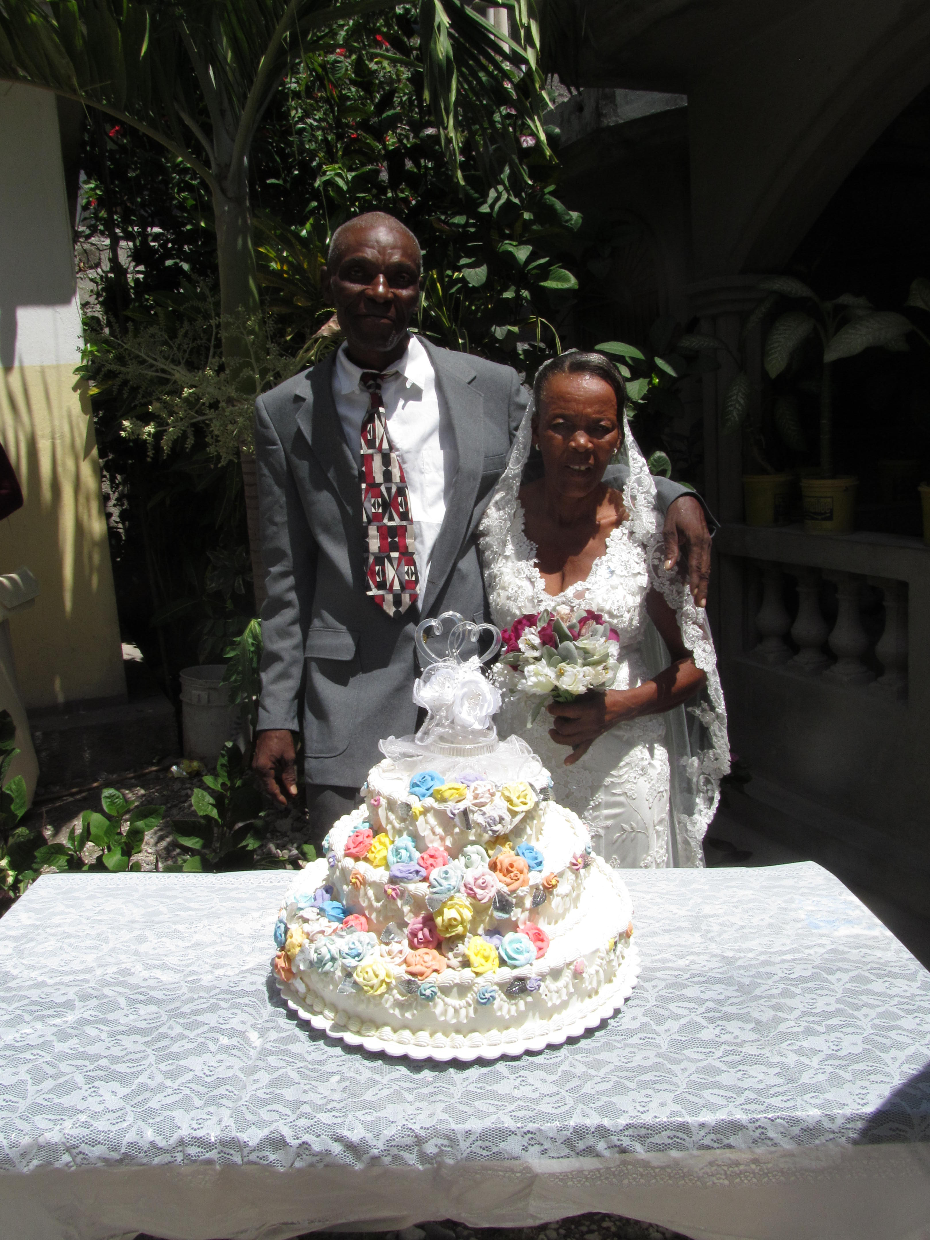 Haitian Wedding Cakes  Haitian Mass Wedding