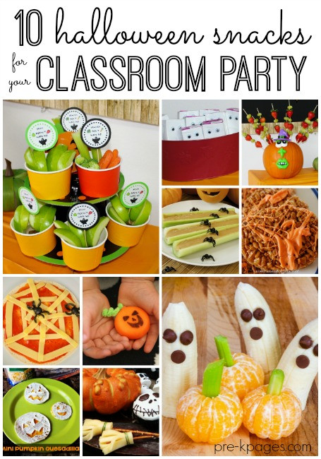 Halloween Healthy Snacks  Classroom Halloween Party Snacks
