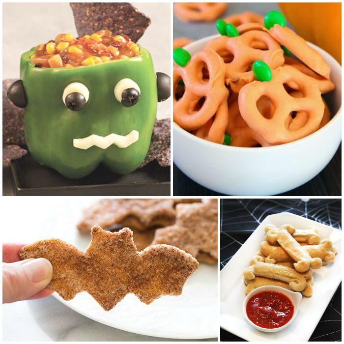 Halloween Healthy Snacks  Healthy Halloween Snacks For Kids