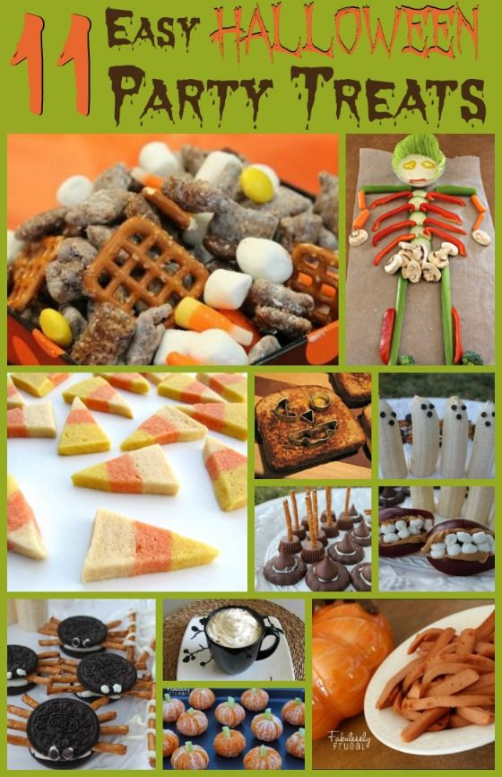 Halloween Healthy Snacks For Classroom  18 Easy Halloween Party Treats
