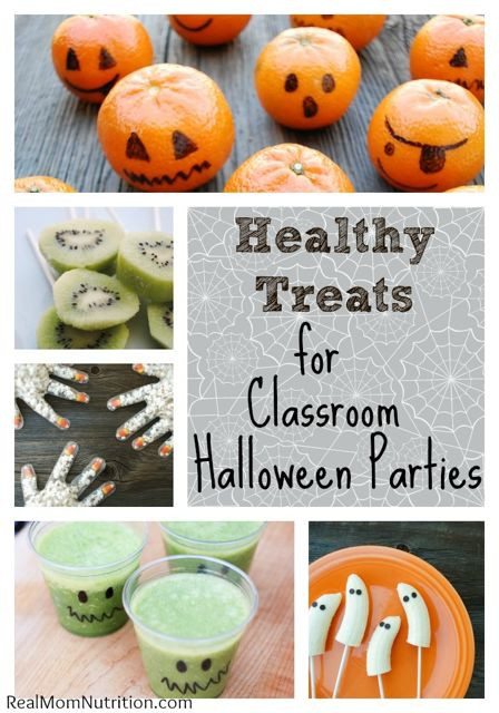 Halloween Healthy Snacks for Classroom 20 Ideas for Healthy Halloween Blog Roundup Nutrition Starring You