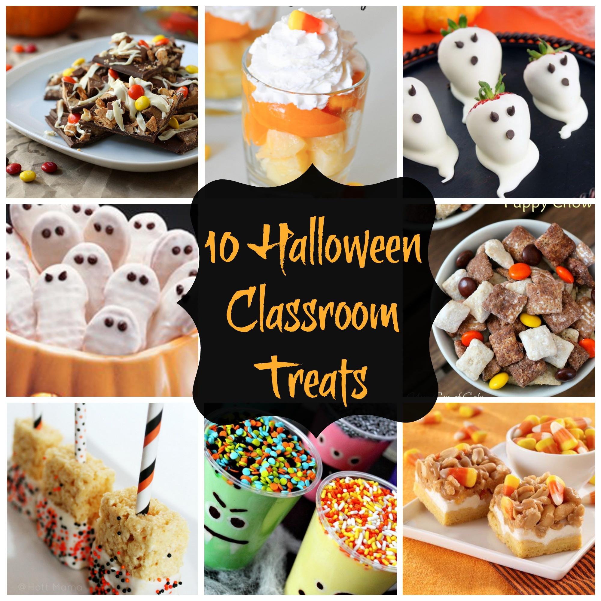 Halloween Healthy Snacks For Classroom  10 Halloween Treats for the Classroom Savvy Sassy Moms