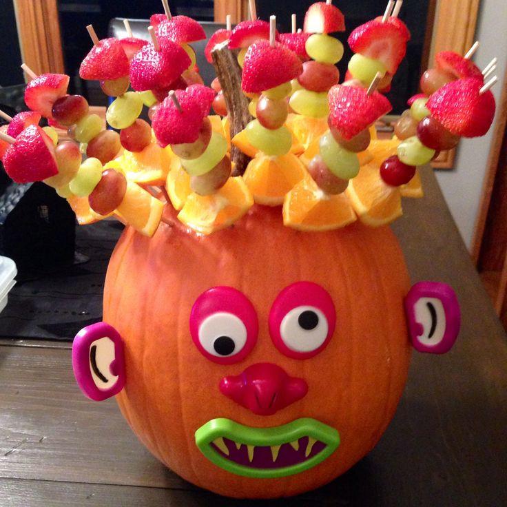 Halloween Healthy Snacks For Classroom  Healthy Halloween classroom snack So easy