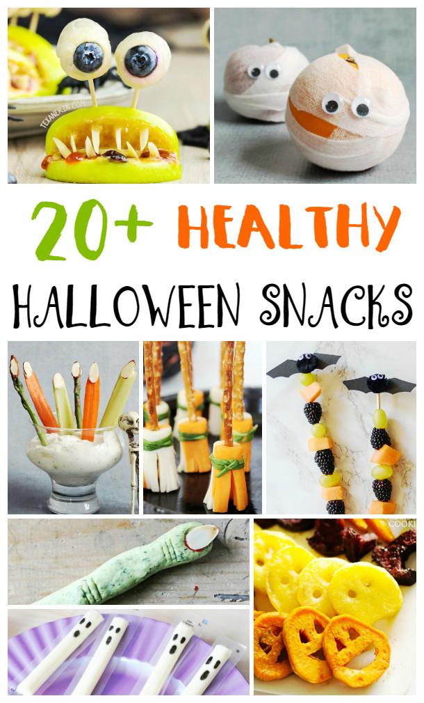 Halloween Healthy Snacks For Classroom  25 Healthy Halloween Snacks for Kids Natural Beach Living