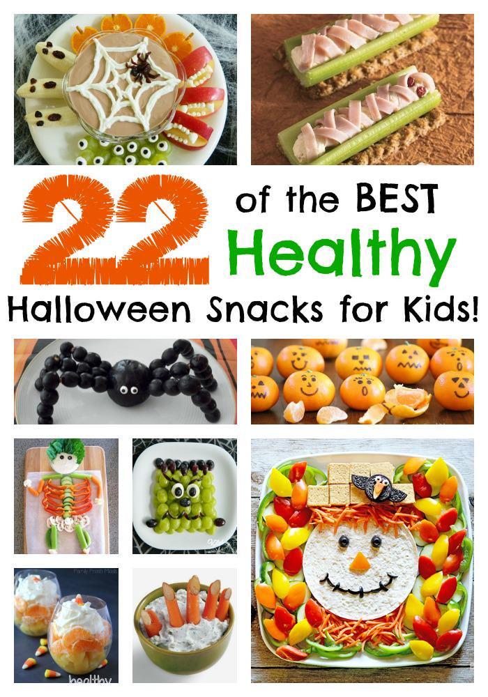 Halloween Healthy Snacks For Classroom  Jill Mills KitchenFun3Sons