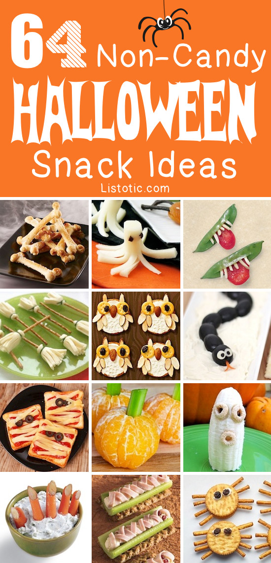 Halloween Healthy Snacks  64 Healthy Halloween Snack Ideas For Kids Non Candy