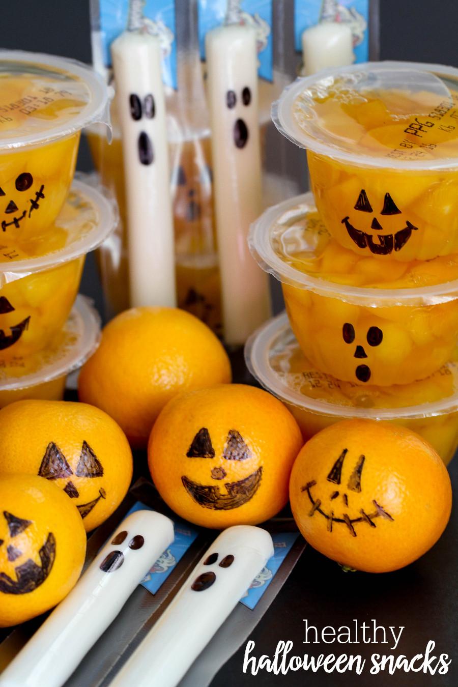 Halloween Healthy Snacks  Healthy Halloween Snacks Lil Luna