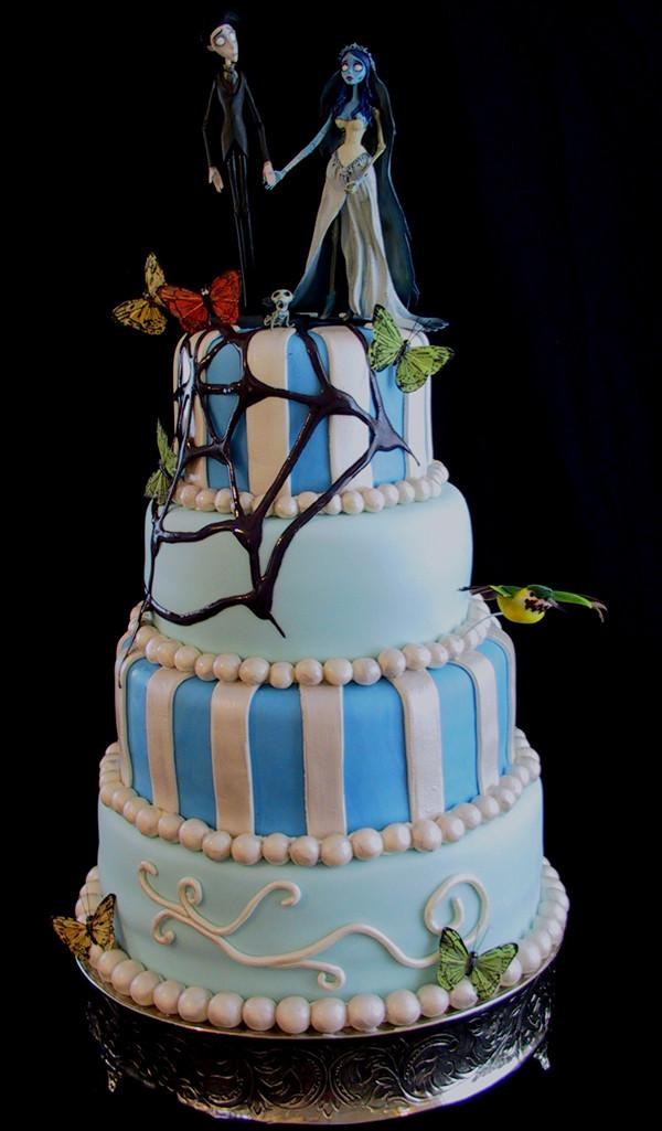 Halloween Themed Wedding Cakes  Halloween Themed Wedding Cakes