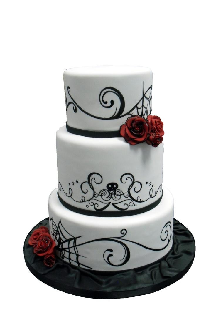 Halloween Wedding Cakes  Wedding Catering Raleigh NC