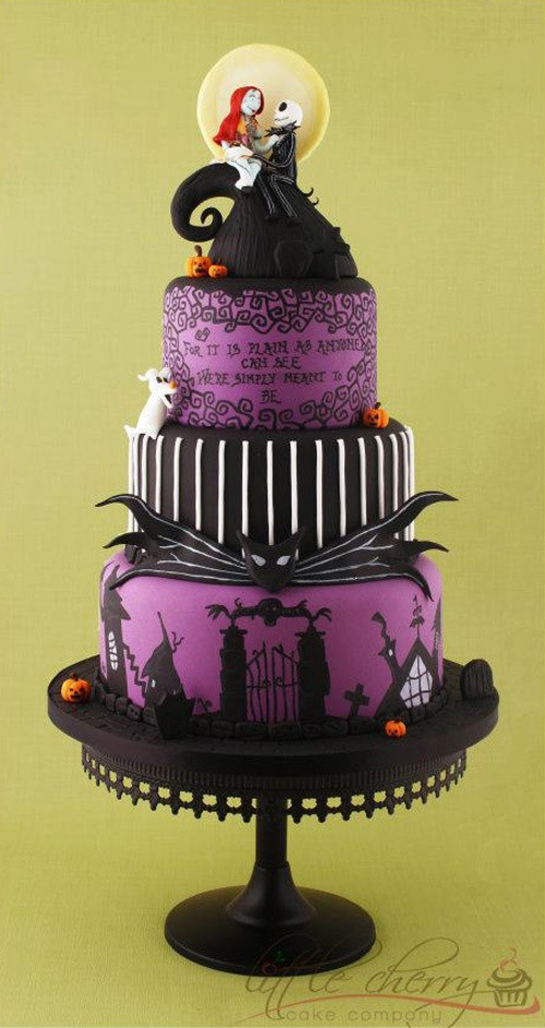 Halloween Wedding Cakes  40 Original Halloween Wedding Cakes Weddingomania
