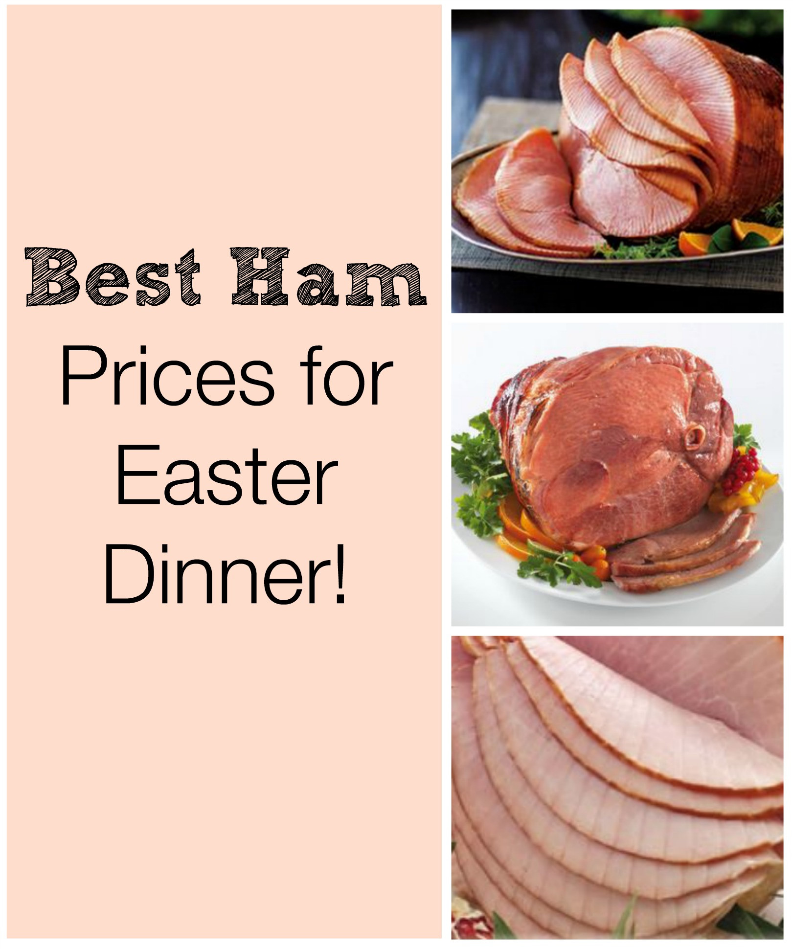 Ham On Easter  Best Prices on Ham at Grocery Stores for Easter