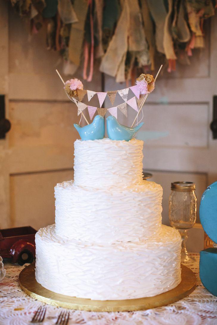 Harps Wedding Cakes  Blue Bird Cake Toppers