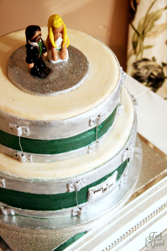 Harps Wedding Cakes  My Best Friends Wedding cake Fork and Good