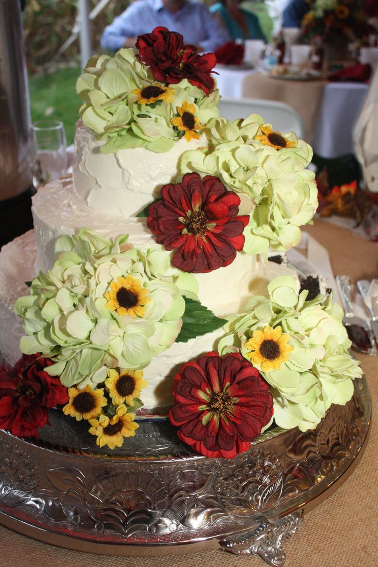 Harps Wedding Cakes  17 Best images about Simple wedding cakes on Pinterest